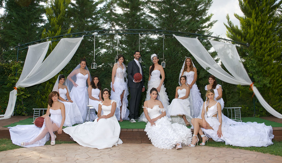 AO terpsitheas bridal photo shoot basketball team event fashion