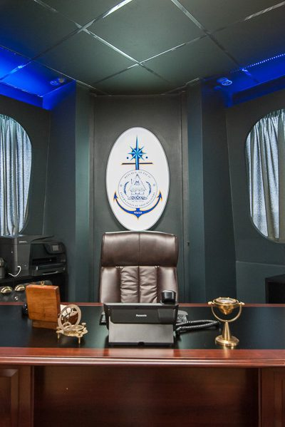 Palau ship registry interior photography office