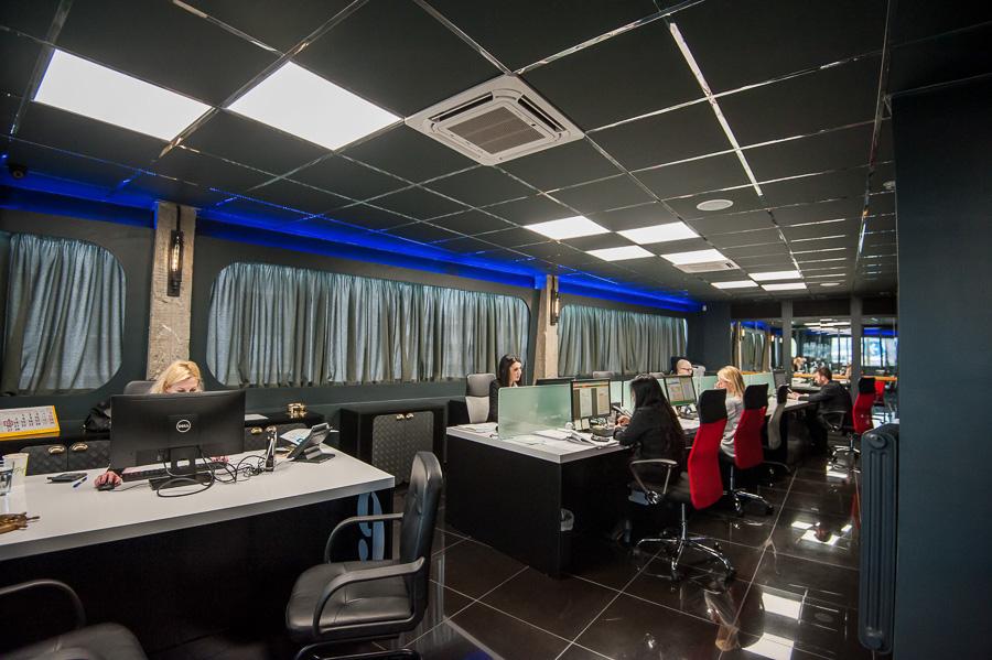 Palau ship registry interior photography office