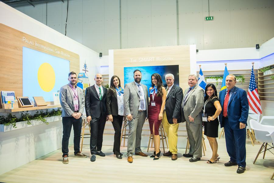 Palau ship registry posidonia ekthesi exhibition athens aerodromio event