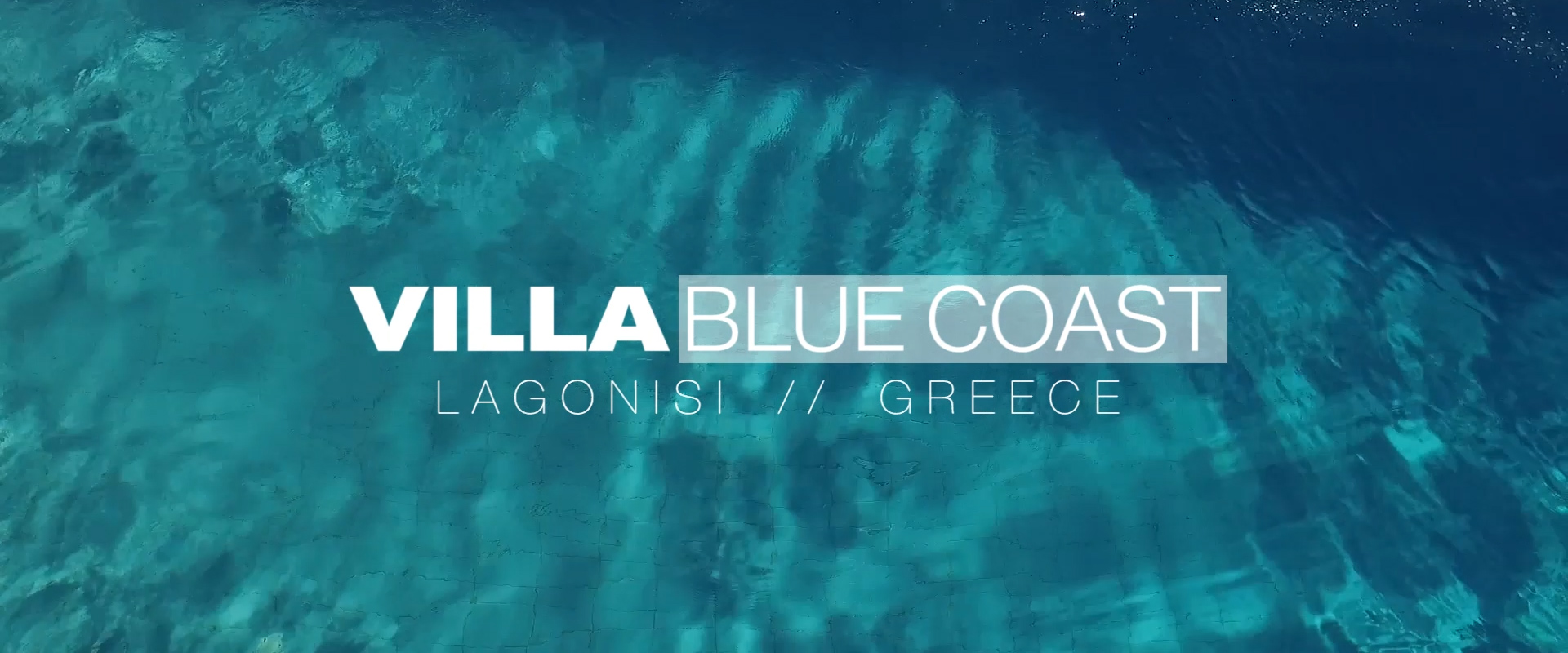 Villa bleu coast promo corporate video lifestyle resort